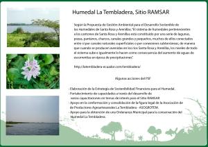 Humedal la Tembladera
